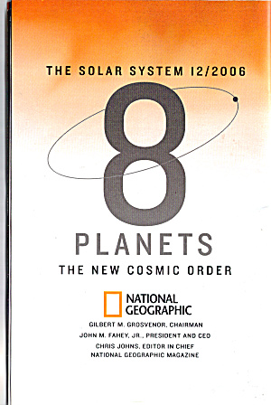 8 Planets The New Cosmic Order 12/2006
