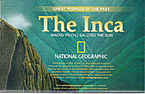 The Inca Machu Picchu Salutes The Sun