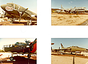 Lot Of Photos Of Aircraft On Diaplay, Castle Air Museum
