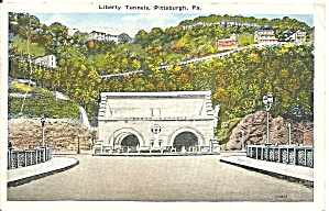 Pennyslvania Liberty Tunnels Pittsburgh P31194