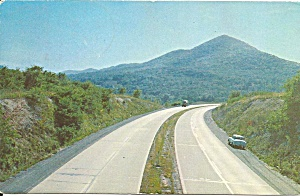 Pennsylvania Turnpike At Pyramid Point Postcard P36224