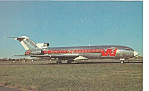 Western Airlines 727-247a N28023w Postcard P36545