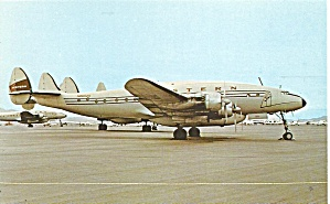 Western Airlines Constellation L749a N86525 P36585