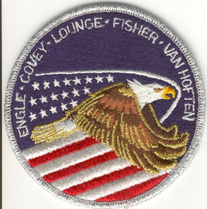 Sts51i Discovery Nasa Space Patch