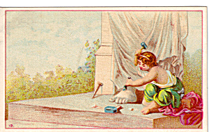 Acme Oil Co Trade Card