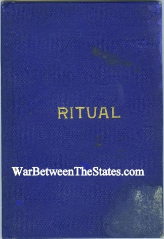 1910 Manual, Ritual Of The Grand Army Of The Republic