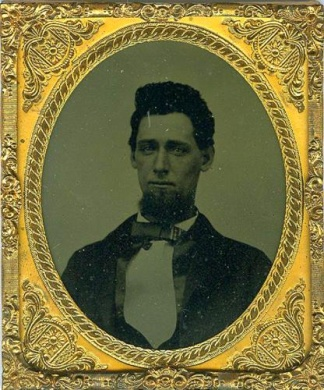 Tintype, Handsome Young Gentleman