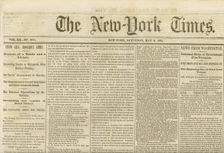 The New York Times, May 2, 1863