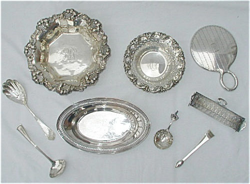 Silver Identification, Appraisal Services