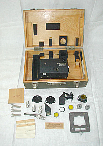 Old Fairchild Aviation Army Air Force Camera